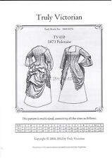 OLD WEST 1870 polonaise (long blouse top) sewing pattern Truly Victorian TV410