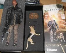 "1/6 Scale 12"" Hot - NEW Subway Survivor - Legend figure w Toy Dog MIB"