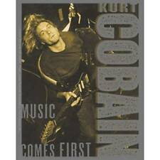 Sticker - Kurt Cobain - Nirvana - Music Comes First - Licensed New