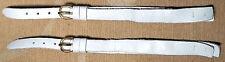 Damen Uhren Armbänder 8 mm Leder DDR VARIOLED Handarbeit (2 St) Dornschließe NEU