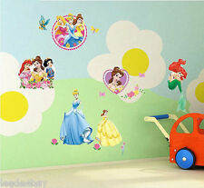 DIY Wall Sticker Disney Snow White Princess Decal Kid Nursery Baby Room Decor