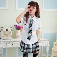 Sexy Japan adult School Girl cosplay halloween costume fancy dress uniform
