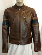 Vanson Logan's Closet wolverine style Logan X3 leather jacket Made in USA 44r