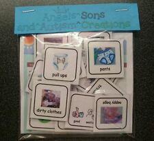 Boy's toilette visual cartes/pecs autisme/non verbale/DMPS/adhs/sen