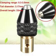 Mini 0.3-3.5mm Drill Bit Chuck Holder Adapter For Mirco Electric Drill Universal