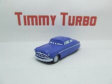 CARS DISNEY PIXAR DOC HUDSON HORNET IN BLUE  PLASTIC 85 MM LONG