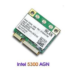 Intel Wifi Link 5300 Wireless Dual band 300Mbps Half Mini PCI-E Card For laptop