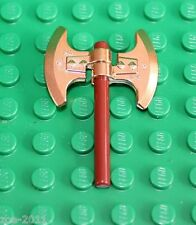 Lego Gold Chrome Axe NEW!!!