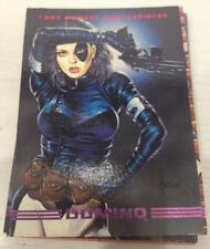 Domino Card (X-Men Marvel Cards 1993 Marvel Masterpieces)
