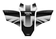 TANK PAD Paraserbatoio 3D COMPATIBILE PER TRIUMPH TIGER 800 UK GRAY GP-097