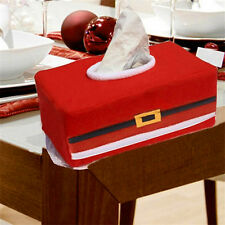 Pop Christmas Paper Tissue Napkin Box Cover Case Wrapper Home Office Car Decor