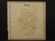 New York, Schoharie County Map, 1866, Wright Township Z4#42