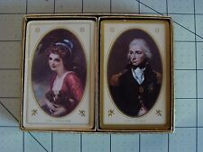 VINTAGE 2 DECK PLAYING CARDS LADY HAMILTON AND LORD NELSON