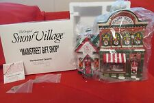 Dept 56 Christmas Snow Village Porcelain 97' Main Street Gift Shop Light Up HTF