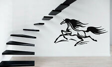 Horse Horserace Mustang Bronco Animal  Mural Wall Art Decor Vinyl Sticker z340