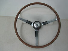 "1964-66 B Body Wood Grain Wheel W/66 Dodge Center Cap Mopar ""USED"" 4016-VTT"