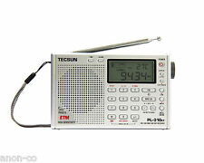 TECSUN PL-310ET (Silver Color) PLL DSP Multi Band Radio     ENGLISH VERSION