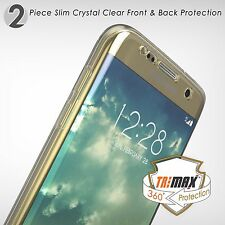 Galaxy S7 Case,Tri Max®Clear Ultra Slim 360°Full Body Protection Hybrid Case
