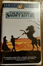 The Man From Snowy River VHS Tape with Kirk Douglas