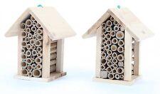 2 x point-garden Hôtel Pour Insectes Maison Pour Abeilles NEUF