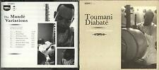 Toumani Diabate cd album - The Mande Variations, excellent condition