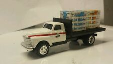 1/64 CUSTOM 50's Chevy pioneer hybrids Flatbed TRUCK WITH 2 pallets of seed ERTL