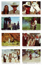 LEGEND OF THE LONE RANGER – 1981 – 8 X 10 – LOT OF 8 LOBBY MOVIE CARDS – MINT