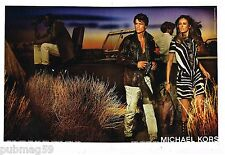 Publicité Advertising 2012 (2 pages) Pret à porter Michael Kors