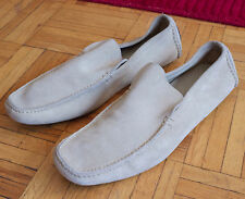 New sz 8 UK / US 9 Helmut Lang 1998 suede leafers shoes slip on