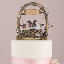 A Love Nest - Love Birds in Archway Wedding Cake Topper Romantic