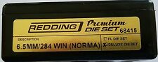 68415 REDDING 3-DIE PREMIUM DELUXE BOTTLE NECK SET - 6.5 x 284 NORMA - BRAND NEW
