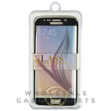 Tempered Glass Screen Protector for Samsung Galaxy S6 Edge Sparkle Black