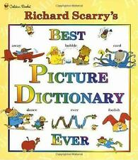 RICHARD SCARRY'S BEST PICTURE DICTIONARY EVER - NEW HARDCOVER BOOK