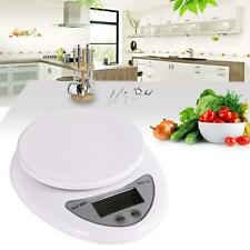 5kg/1g Kitchen Digital Scale LCD Electronic Balance Food Weight Postal Scales K1