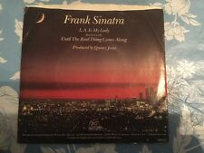 FRANK SINATRA L.A. Is My Lady/ Until The Real Thing 45rpm/ With Picture Sleeve