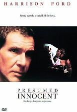 PRESUMED INNOCENT DVD  Harrison Ford Languages/subtitles English French Spanish