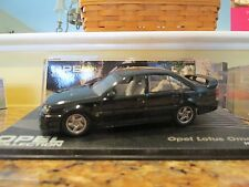 Opel Lotus Omega 1989-1992 promo model car in 1/43rd diecast by IXO with case