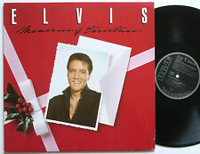 ELVIS PRESLEY MEMORIES OF CHRISTMAS RCA LP MINT-