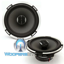 "FOCAL PC165 X2 EXPERT 2 OHM 6.5"" 2-WAY ALUMINUM TWEETERS COAXIAL SPEAKERS NEW"