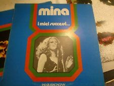 "LP 12""  MINA I MIEI SUCCESSI LINEAZZURRALONGPLAY 97038 OVER EX+ VINILE MINT"