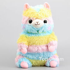 Kawaii Rainbow Alpaca Plush Backpack Bag Cute Japan Llama Alpacasso Arpakasso