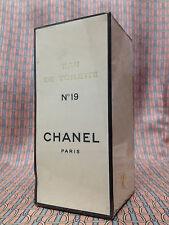 Vintage 70s Chanel No 19 LARGE SEALED 4 oz 118 ml Eau de Toilette FIRST FORMULA
