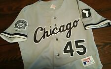 Michael Jordan Chicago White Sox Rawlings Authentic Jersey Sz 42 Bulls