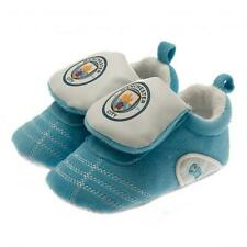 Manchester City Fc Man City Baby Booties Slippers Football Boot 9/12 Months