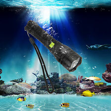 CREE R5 LED Waterproof 2500LM  Scuba Diving Flashlight Torch Light 18650 5 Modes