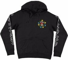 Krooked Mark Gonzales SWEATPANTS SET Pullover Skateboard Hoodie BLACK XL