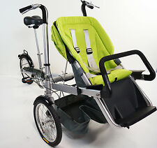 "16""Wheel Folding Bicycle Pushchair Mother Baby Stroller Bike Carrier. Cars4Kids"