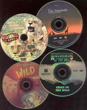 Cute & Cuddly Critters DVD And 3 Other Nature Films See Scan For Titles NO CASE