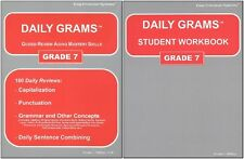 Daily Grams (Easy Grammar)  Grade 7 SET Text and Workbook  NEW