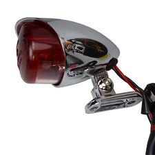 Motorrad Rücklicht Hawk mit Metallgehäuse für Chopper Bobber Old School Bikes